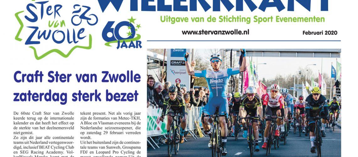 Craft Ster van Zwolle Wielerkrant 2020