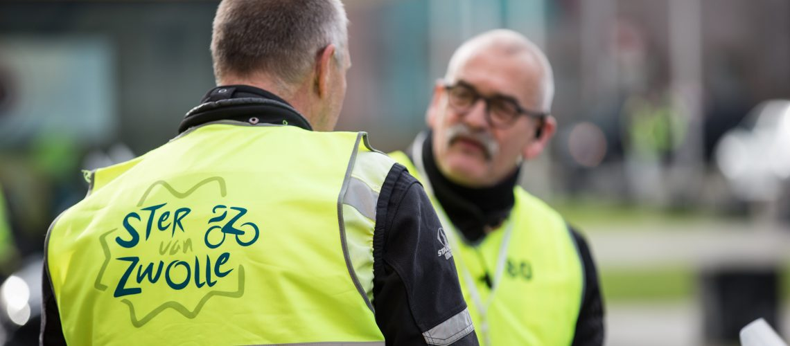 Politie en verkeersregelaars